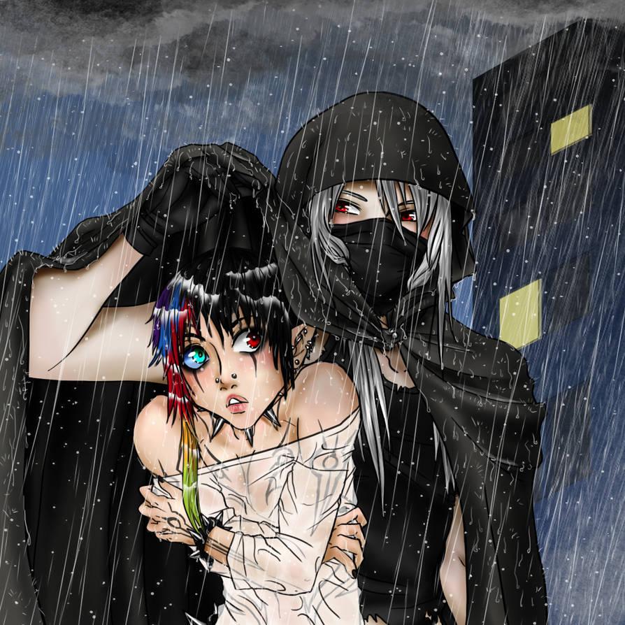 As The Rain Came...