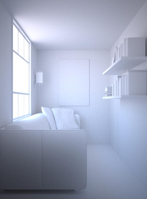 White room by Vervactum on DeviantArt
