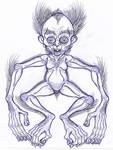 Posthuman Sketch: Monkey-Morph