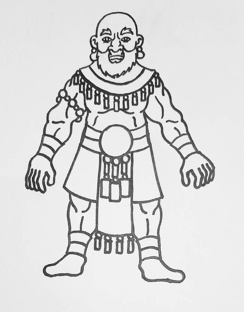Rothe Rhea Tribesman by Alienietzsche