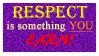 Respect Stamp by mini-sanada
