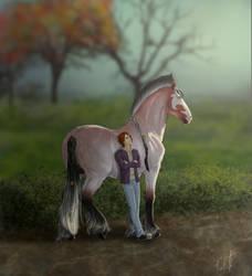 Prize portrait  Autumn by LadyKallisto