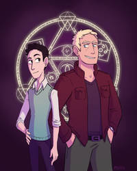Emil and Hadrien by Psychia98