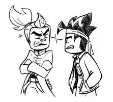 they're bickering