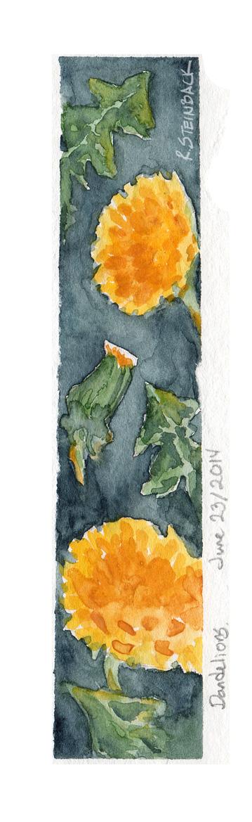 Dandelion Study by brightling