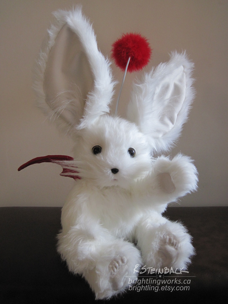 Ivalice Moogle Plush by brightling