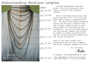 Understanding Necklace Lengths - Infographic