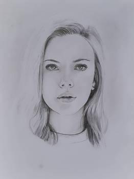 Portraitstudie Bleistift