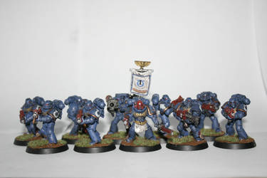 first tactical squad, Ultramarines third company