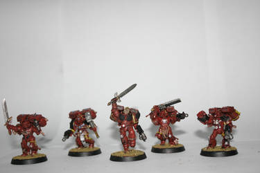 Blood Angels Vanguard veterans