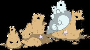 Sand snails fakemon line revealed
