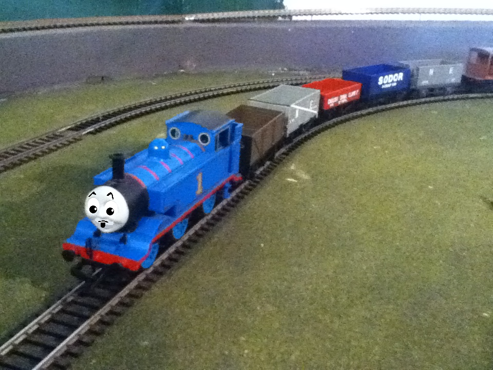 Thomas And The Trucks Recreation Scene By EngineNumber14