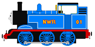 Reginald The Old Tank Engine by EngineNumber14