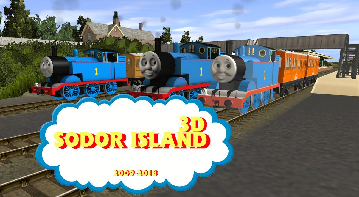 Ministerfarrigut Sodor Island 3D James Update