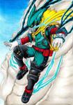 Boku no Hero Academia Deku  by Yuudai-Sato