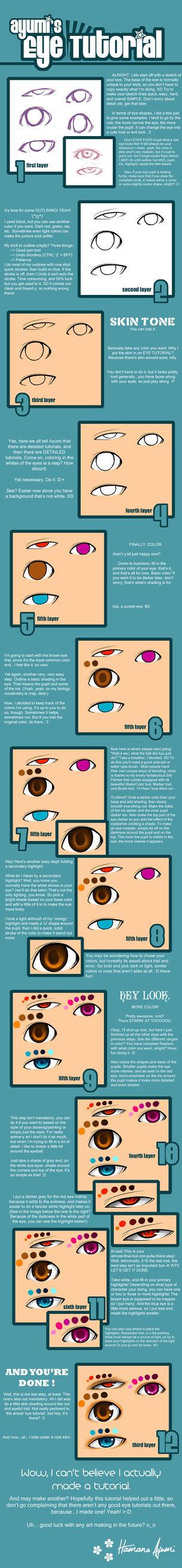 Eye Colouring Tutorial? :D by Fushi-Chou
