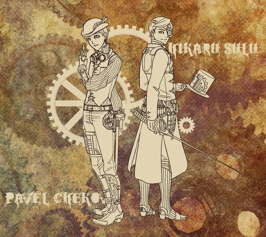 Steampunk Designs 1-2 by Fushi-Chou