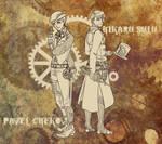Steampunk Designs 1-2