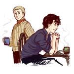 Sherlock Doodle