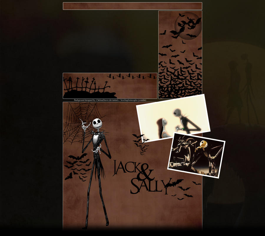 Jack and Sally YT BG by ChelseaDawn