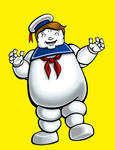 Mr O'Neill as Stay Puft