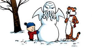 Calvin and Hobbes: Sculpting