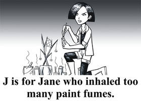 J is for Jane by BloodyWilliam