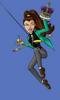 Nikki as Arsene Lupin III by BloodyWilliam