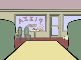 Daria: Pizza King Interior