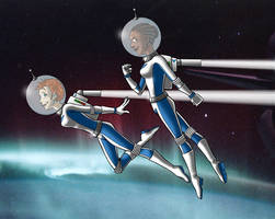 Space Race (Secret Santa) by BloodyWilliam