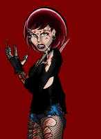 Penny Lane as Julie Walker by BloodyWilliam