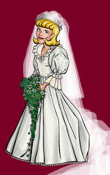 Marianne as Lady Diana Spencer