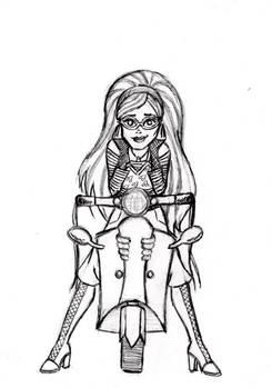 X-mas gift sketch: Ghoulia