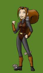 'Chipmunk' as Squirrel Girl