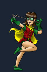 Amelia as Carrie Kelley by BloodyWilliam