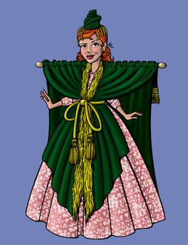 Cousin Erin as Starlet O'Hara