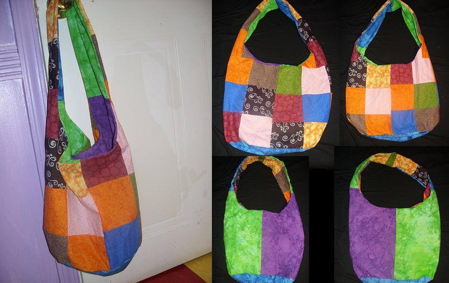 Reversible Colorful Sling Bag by IrresistibleMorsels on DeviantArt