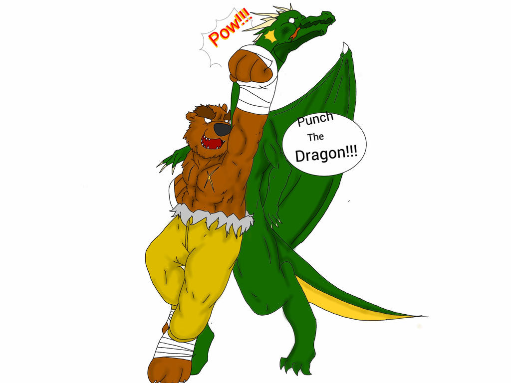 Punch The Dragon By Rodinator23 On Deviantart