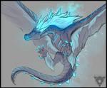 Winter Wyvern by DreamTheorem