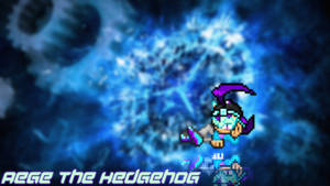 Aege The Hedgehog wallpaper