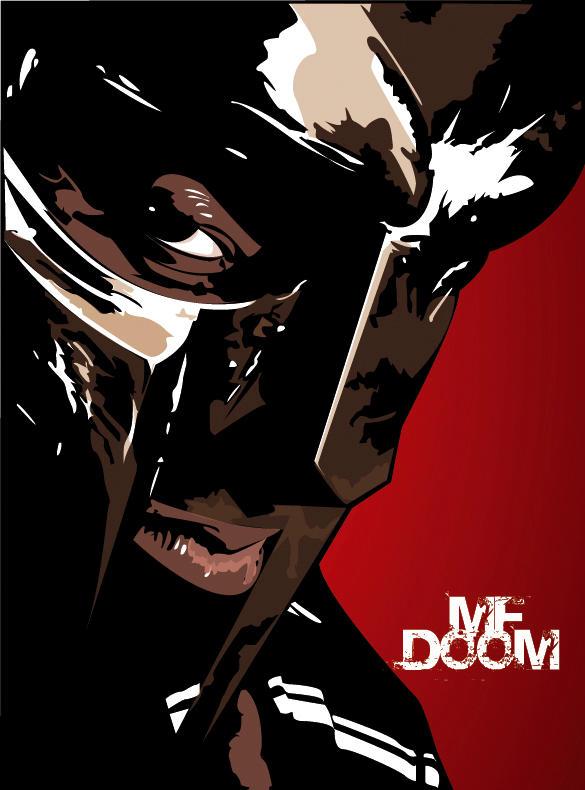 mf doom by ghostserver