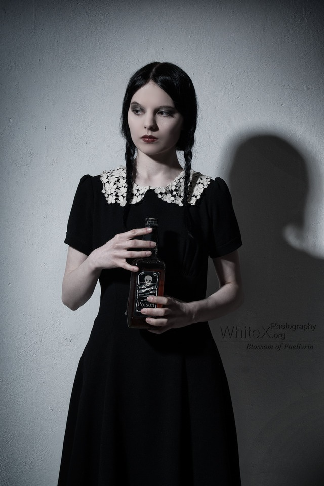Wednesday Addams by Blossom-of-Faelivrin