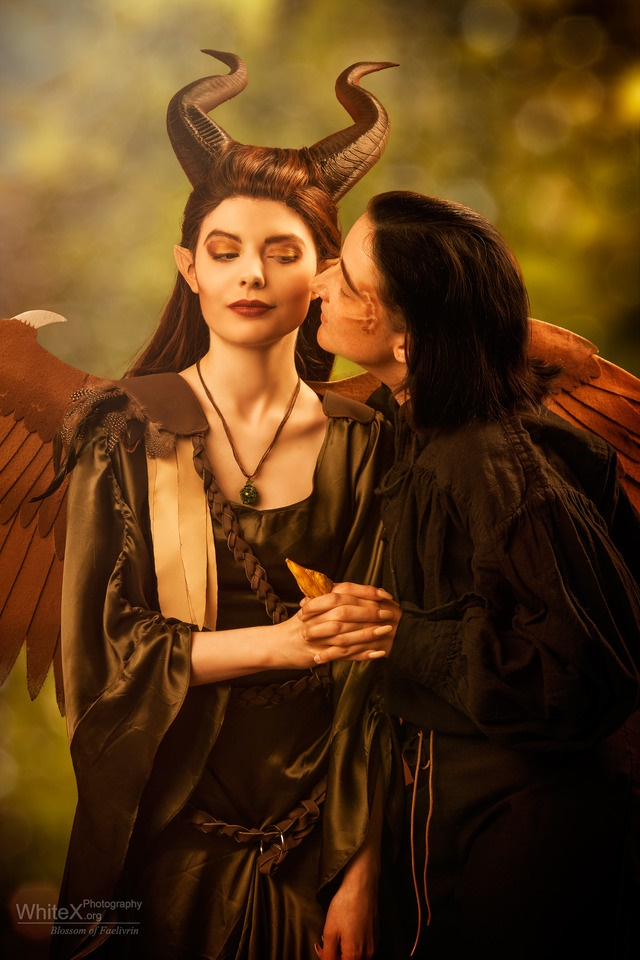 Maleficent - True love's kiss by FaerieBlossom