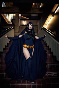 My mind is a battleground [Raven DC Comics]