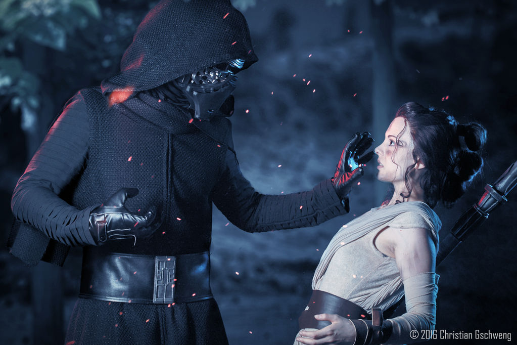 I can show you the force [Rey and Kylo Ren]