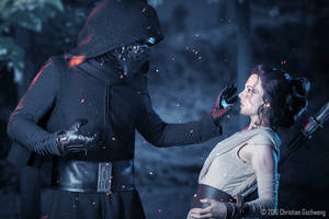 I can show you the force [Rey and Kylo Ren] by FaerieBlossom