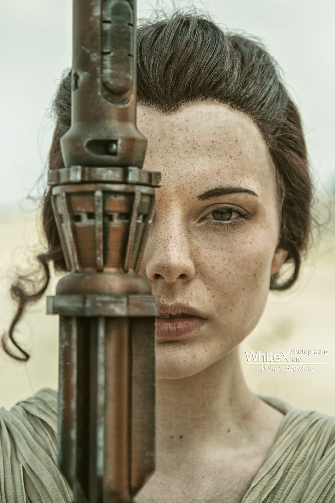 'I'm no one' [Rey Star Wars VII] by FaerieBlossom