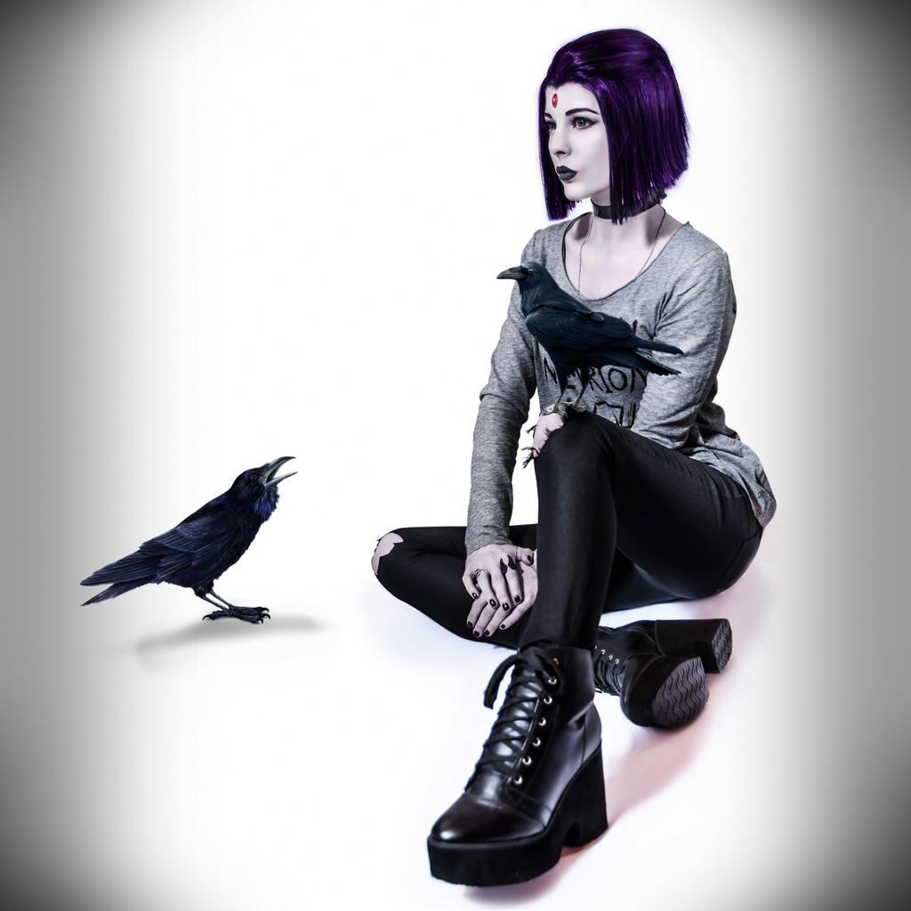 Happy Raven by Tanyhey on DeviantArt