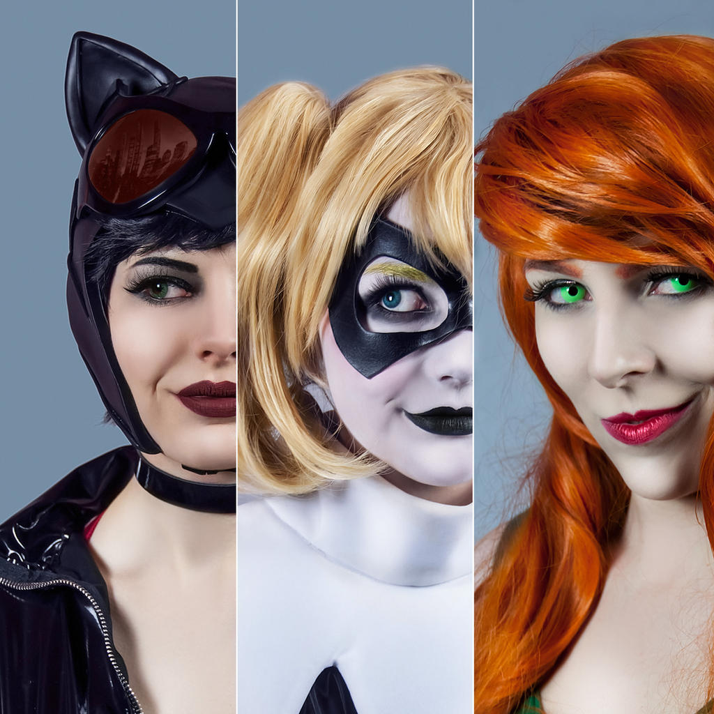 Gotham City Sirenes by FaerieBlossom