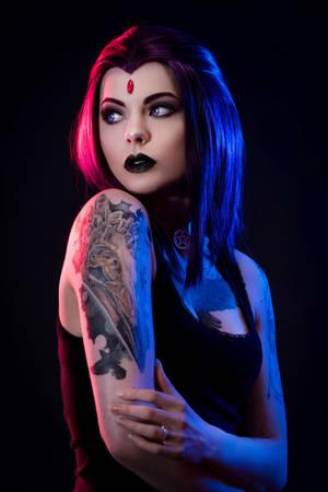 Raven [DC Comics] by FaerieBlossom
